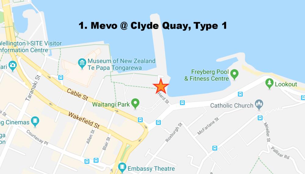 1. Mevo Clyde Quay, Type 1