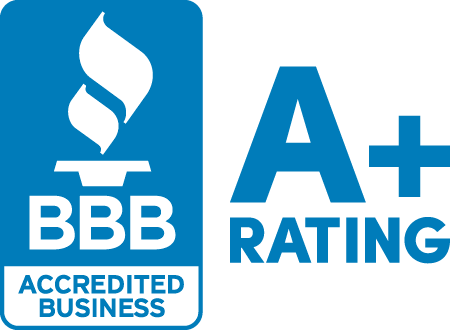 We maintain an A+ with the BBB.