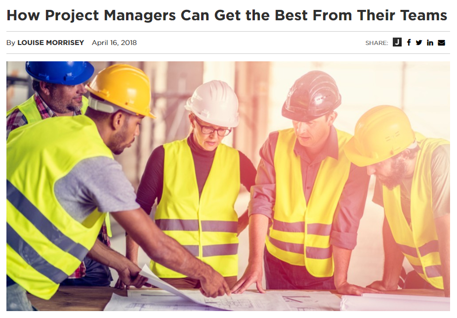 Michelle Bihary - How Project Managers Can Get the Best out of their Teams - April 2018