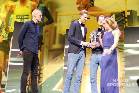 Marloes Wesselink in actie in haar nieuwe carrière na de topsport