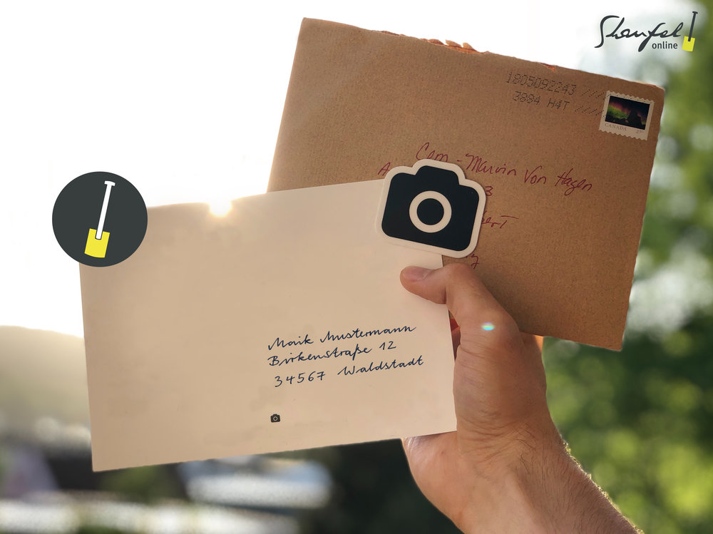 Fotos & Dokumente direkt versenden - Egal ob Rechnungen, Angebote, Fotos, Briefe und Serienbriefe einfach per E-POST versendet werden.