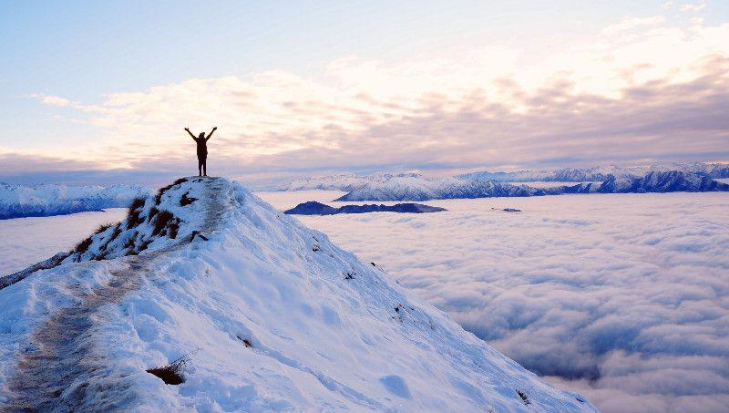 Winter Sunrise at Roys Peak