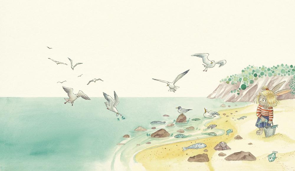 Book Illustration by Sabine Koops