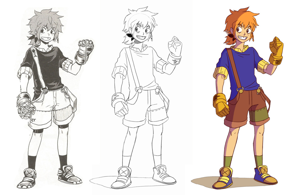 Character Redesign by Janina Putzker