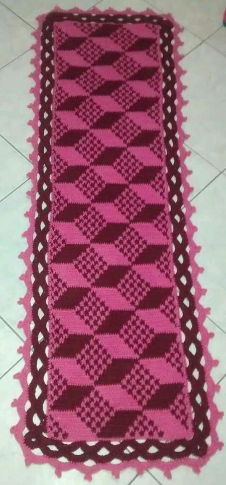 Tapete De Croche 3D 24