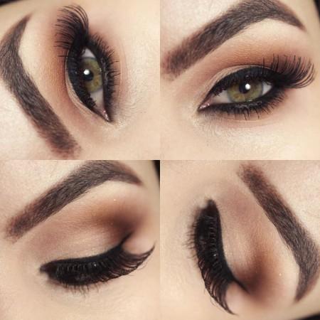 Ideias De Maquiagem Marrom Simples 4