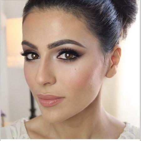 Maquiagem Marrom Basica 1