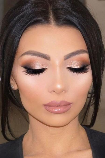 Maquiagem Marrom Basica 2
