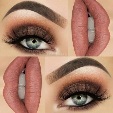 Maquiagem Marrom Basica 3