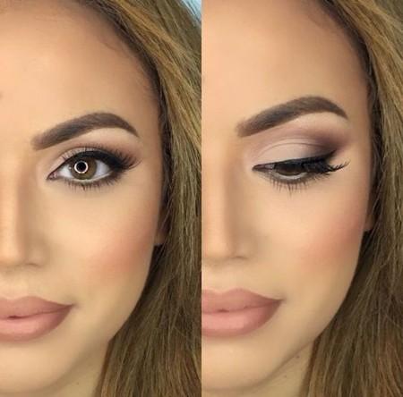 Maquiagem Marrom Claro 6