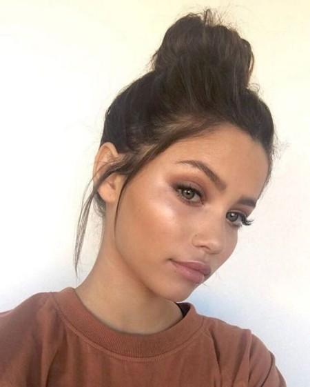 Maquiagem Marrom Claro 8
