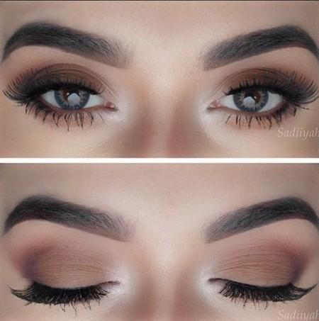 Maquiagem Marrom Simples 2