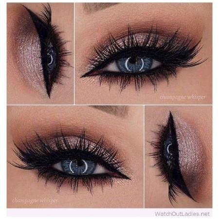 Maquiagem Marrom Com Rosa 11