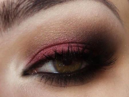 Maquiagem Marrom Com Rosa 13