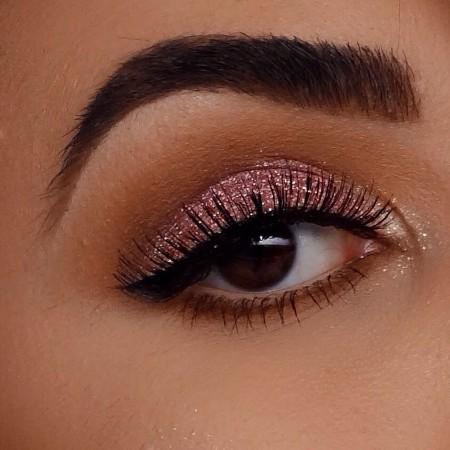 Maquiagem Marrom Com Rosa 2
