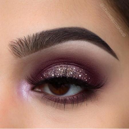 Maquiagem Marrom Com Rosa 3