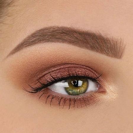Maquiagem Marrom Com Rosa 5