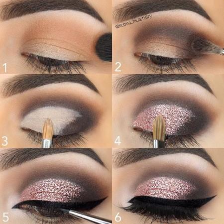 Maquiagem Marrom Com Rosa 7