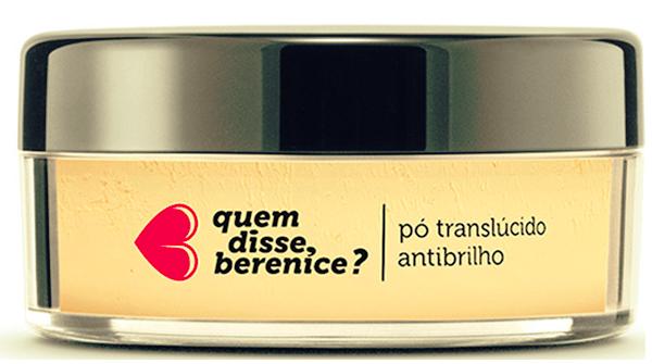 Pó Translucido Antibrilho Amarelê Quem Disse, Berecine?