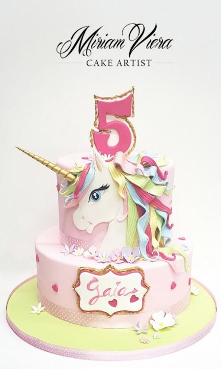 Bolo Festa Unicornio 5
