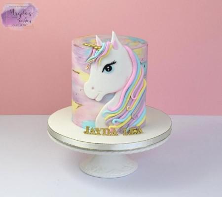 Bolo Festa Unicornio 6