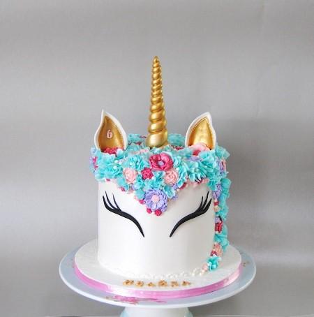Bolo Festa Unicornio 9