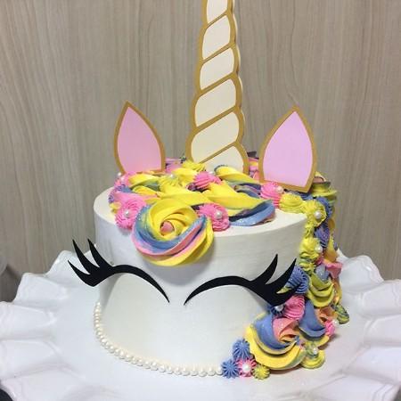 Bolo Festa Unicornio