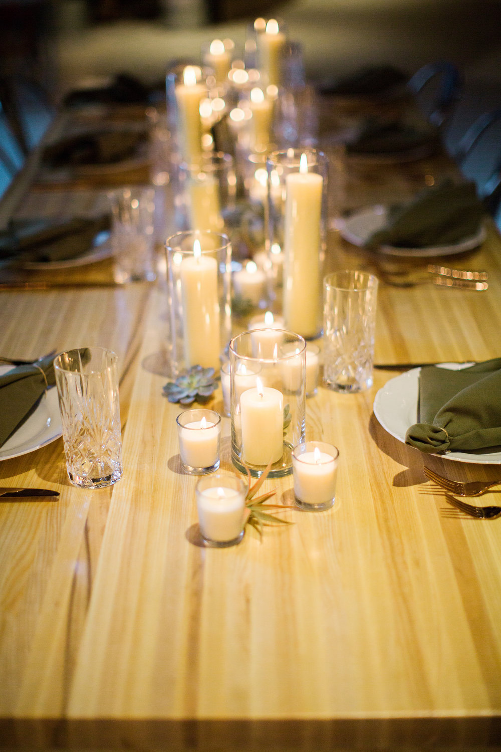 Wedding Table at O'Maine Studios in Portland, Maine