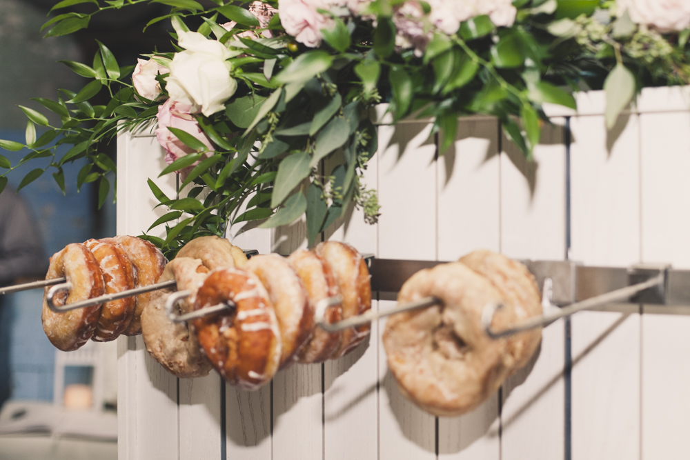 Donut Board for Fall Wedding