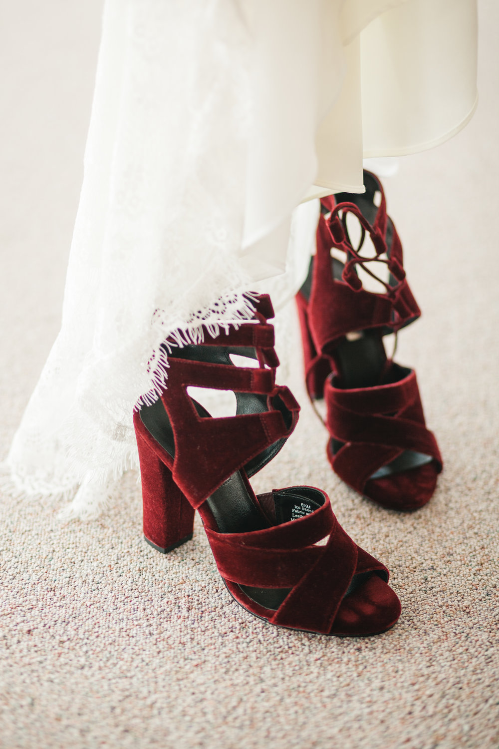 Velvet Wedding Shoes