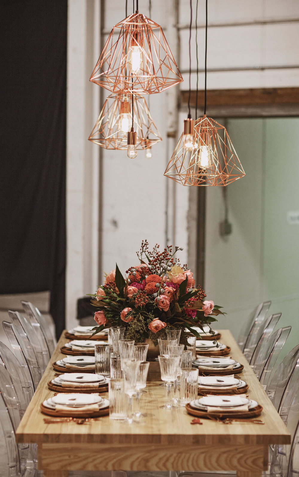 Fall Wedding Table Idea