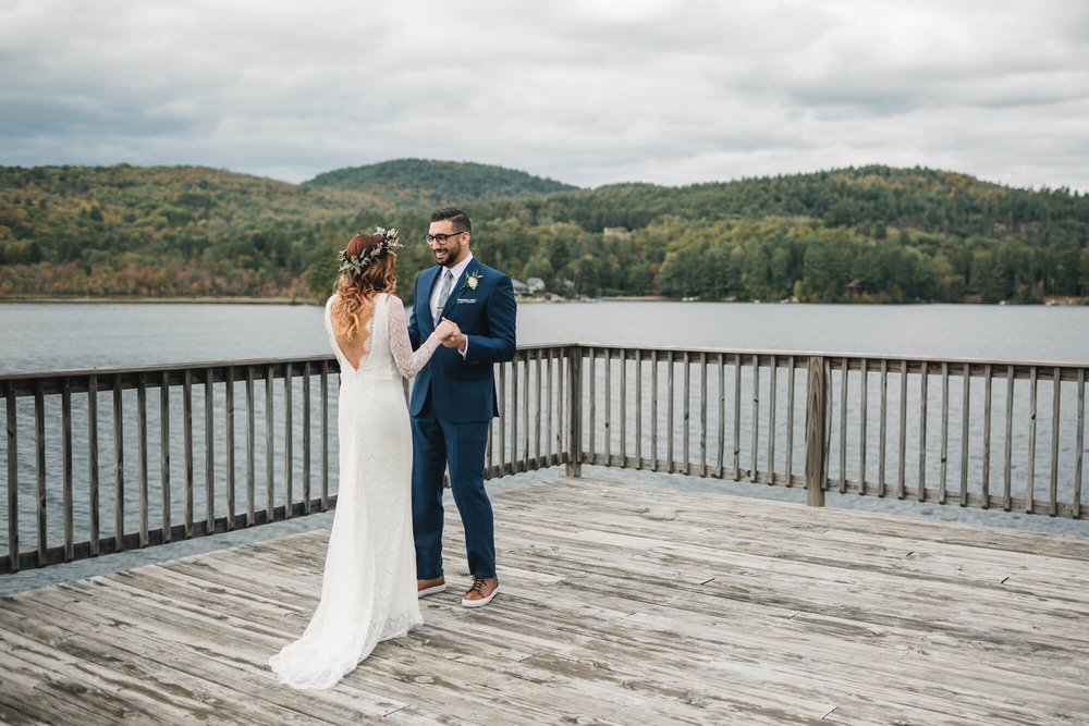 An Outdoor Adirondacks Wedding -