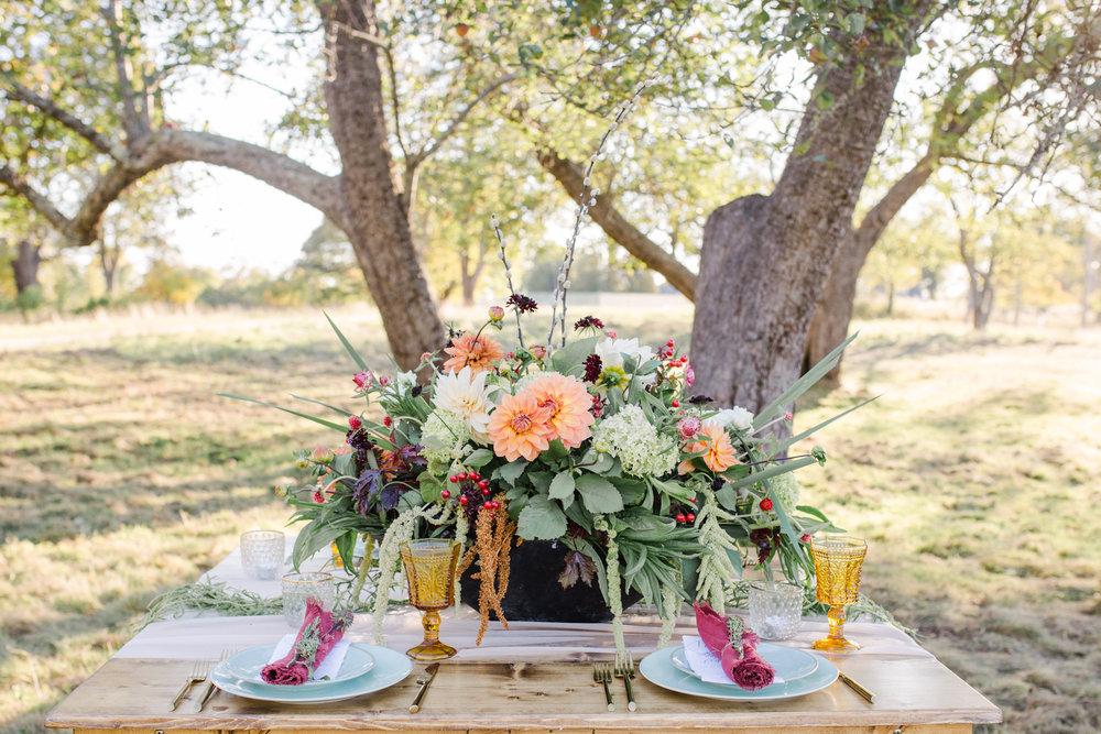 Edgy Bohemian Fall Wedding Shoot at Ram Island Farm -68.jpg