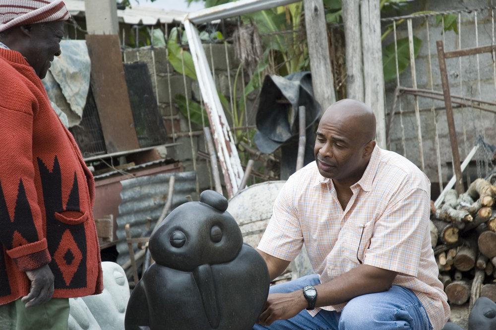 fanizani talking to jeff at his home 2005.jpg