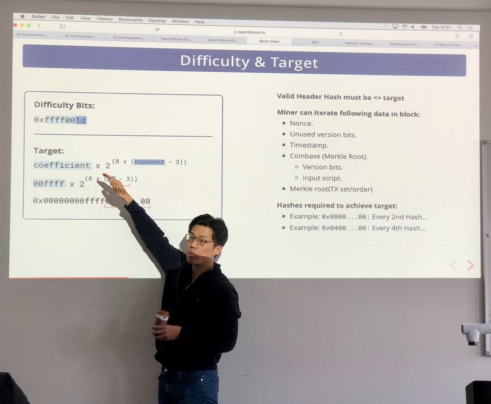 James Chiang Teaching 21 Lectures