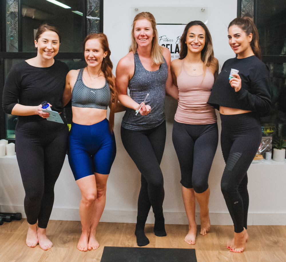 """After the yoga session, we had a raffle prize give away from  Birch and Fog ! If you want to purchase any Birch and Fog products you can use my code 'Jacflash"""" to receive $20 OFF your order!"""