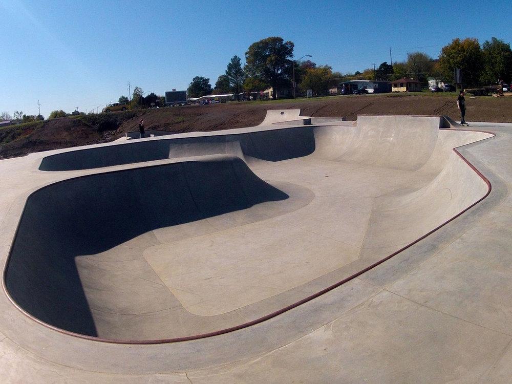 Poteau Skatepark - Oklahoma