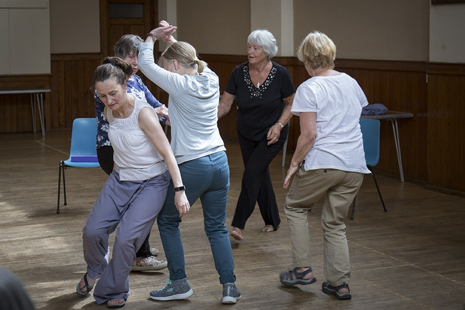Falling On Your Feet - A dance & movement programme for people over 65