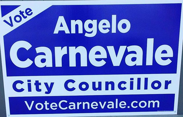 VOTE Angelo Carnevale TODAY! Polls are open today (Oct 22nd) from 10am-8pm. Every single vote counts & will make a difference in Etobicoke Centre! Voting location —  VoteCarnevale.com