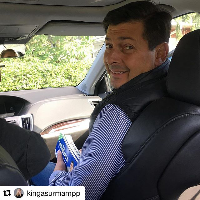#Repost @kingasurmampp with @get_repost ・・・ On June 7th (my) Election Day, Angelo was the one by my side all day keeping me calm! It's so nice to return the favour!