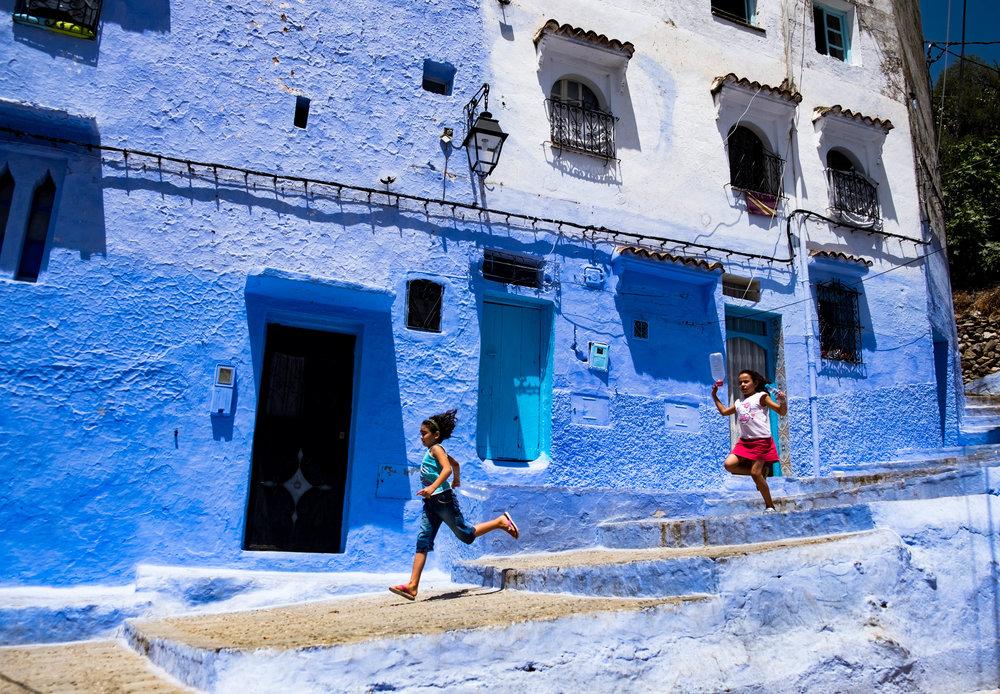 kids running steps, Chefchaouen.jpg