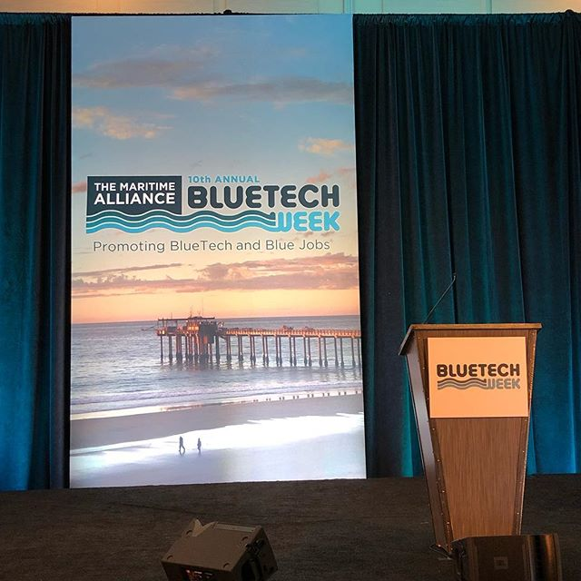 Soon to be presenting at Bluetech Week of our SeaHawk product line. #drone #seahawk #bluetechweek #bluetech #pitchfest