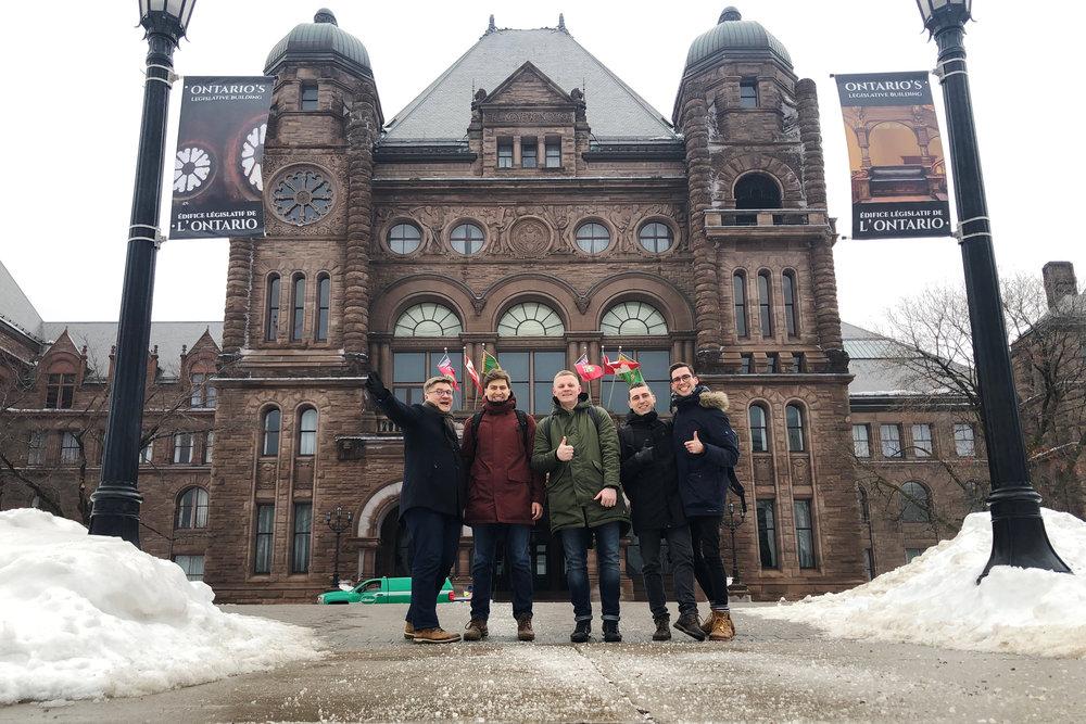 Eddy Travels startup team arrived to Toronto, Canada.jpg