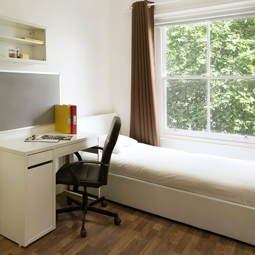 Beaumont House has a variety of rooms available that cater to both UK and International students' needs. We provide great options for those looking for student flats in London whilst studying.    View Our Rooms >