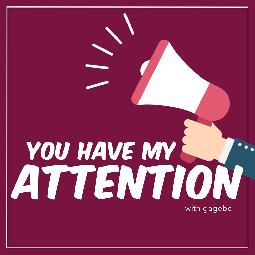 You Have My Attention - A podcast about life, work, and the stuff that captures our attention.New episodes every Wednesday or Thursday.Listen now.Have a comment for the show? Email it over with your first name and general location in the world. Keep in mind, anything you send may be mentioned on the show.input@youhavemyattention.com