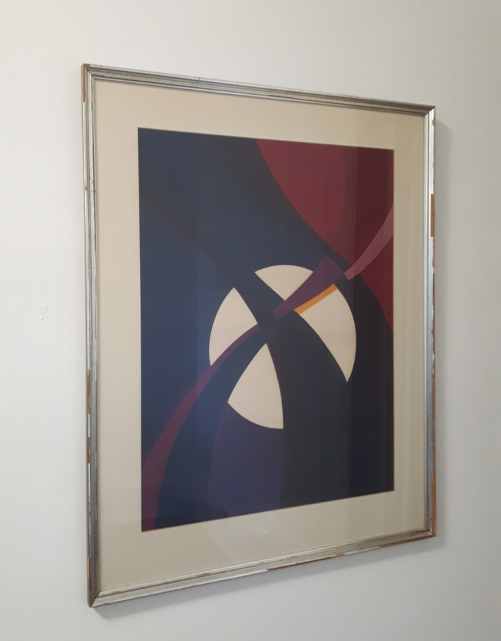 Colour SilkscreenSigned 'B. Katzin' - 1971Edition 5/520