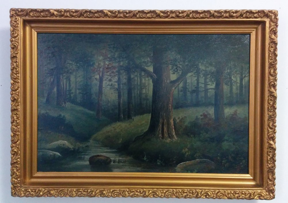 Early 20th century oil on board - 12