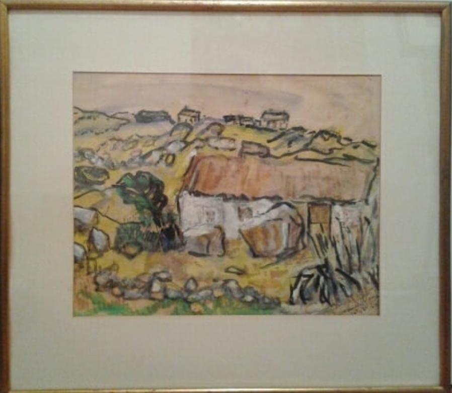 Olga Douglas(Canadian born 1893) - Watercolour196511.5