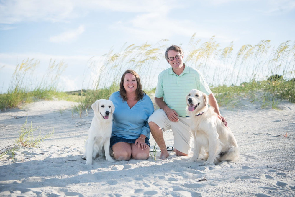 Cheri and Vance Leavy on St. Simons Island - Kelli Boyd Photography
