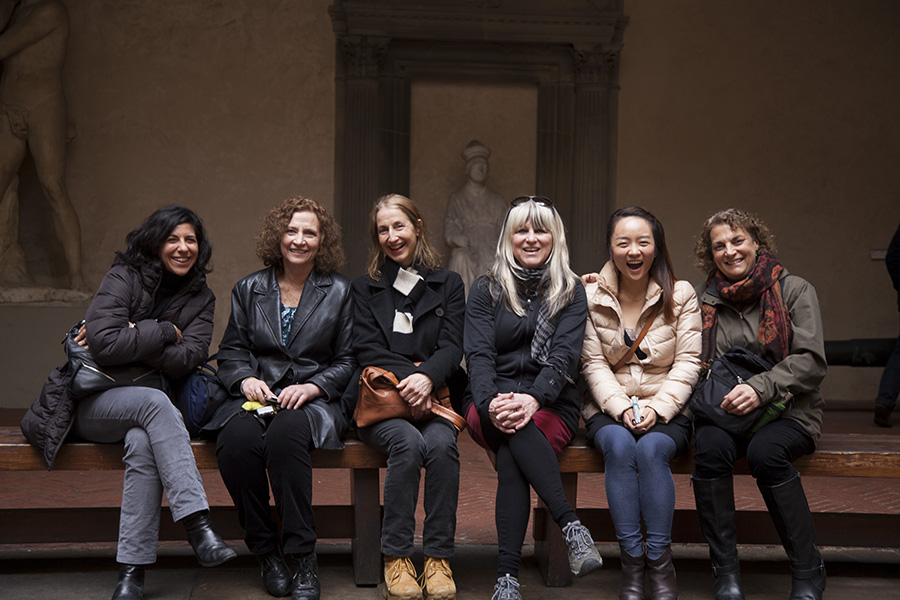 I was surrounded by inspiring women faculty during my semester in Fall 2013 when I returned to Cortona as a faculty.